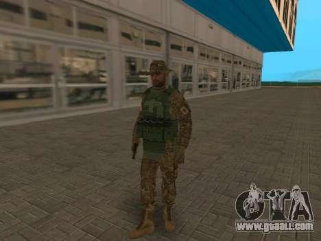 Fsb Officer CSN SSO (Panamka Version) for GTA San Andreas