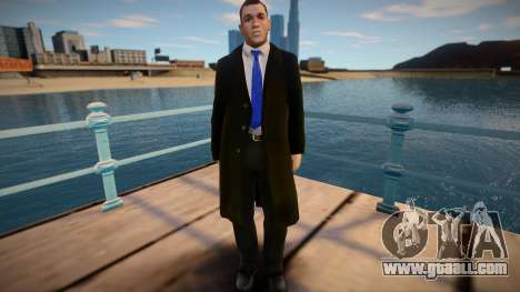 American in coat for GTA San Andreas