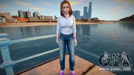 Sam Samsung Casual (Jeans) for GTA San Andreas