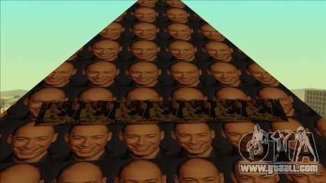 Gordon's Pyramid for GTA San Andreas