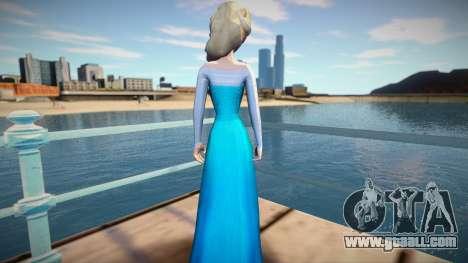 Elsa Frozen for GTA San Andreas