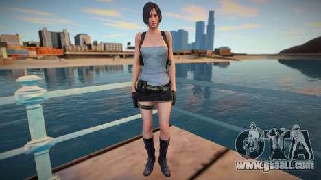 Ada Wong Jill RE2 for GTA San Andreas