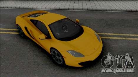McLaren MP4-12C [Fixed] for GTA San Andreas