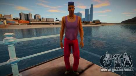 GTA VCS Peds Low Empire Vance Family v1 for GTA San Andreas