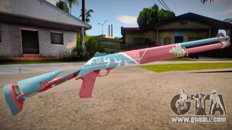 M1014 Invernal Free Fire for GTA San Andreas
