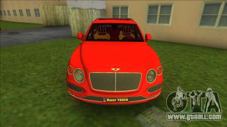 Bentley Bentayga 2021 for GTA Vice City