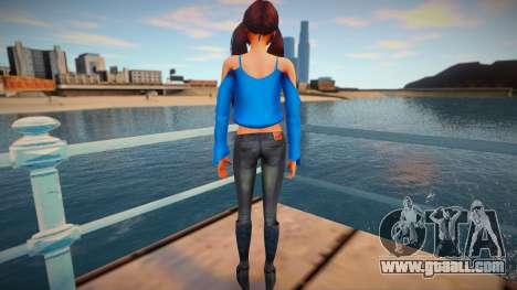 Female Sims 4 for GTA San Andreas