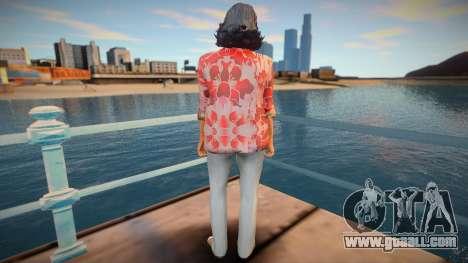 Skin from GTA V v8 for GTA San Andreas