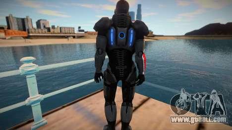 Comandante Shepard for GTA San Andreas