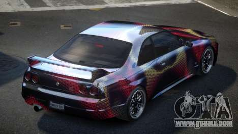 Nissan Skyline R33 US S8 for GTA 4
