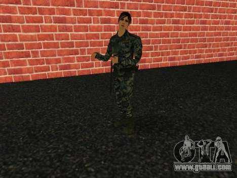 Fsin employee of the Russian Federation for GTA San Andreas