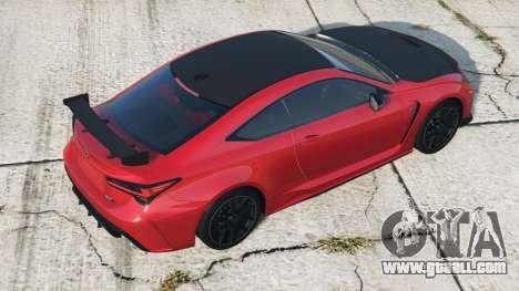 Lexus RC F Track Edition 2019〡add-on v2.0