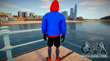 Spiderman Sportwear for GTA San Andreas