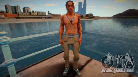 Travis Scott skin for GTA San Andreas