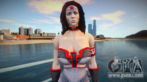 Wonder Woman Red Son for GTA San Andreas