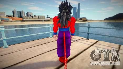 Gohan SSJ4 from Dragon Ball for GTA San Andreas