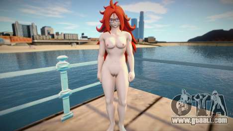 Android 21 Nude for GTA San Andreas