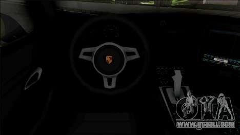 Porsche 911 Turbo 2014 Police for GTA San Andreas