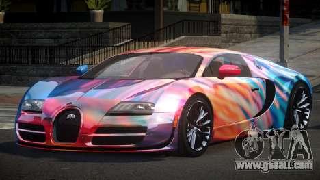 Bugatti Veyron PSI-R S10 for GTA 4