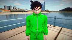 Gohan sportswear from Dragon Ball Xenoverse 2 for GTA San Andreas