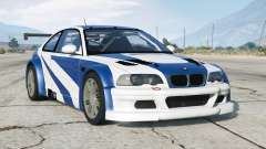 BMW M3 GTR (E46) Most Wanted for GTA 5