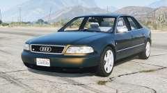 Audi S8 (D2) 1996 v1.4 for GTA 5