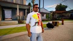 New T-Shirt - tshirtwhite for GTA San Andreas