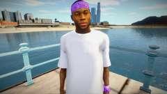 New Ballas1 skin for GTA San Andreas