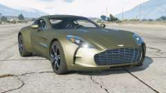 Aston Martin One-77 2010 v2.0 for GTA 5