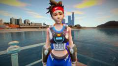 Tracer Sprint From Overwatch for GTA San Andreas