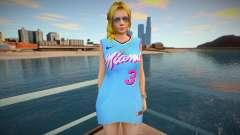 DOA Helena Douglas Fashion Casual V2 Miami Heat for GTA San Andreas