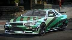 Nissan Skyline R34 PSI-U S3 for GTA 4