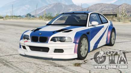 BMW M3 GTR (E46) Most Wanted〡add-on v2.2 for GTA 5