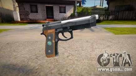 RE2: Remake - Samurai Edge Colt v3 for GTA San Andreas
