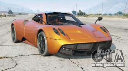Pagani Huayra 2014〡add-on for GTA 5