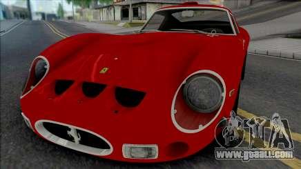 Ferrari 250 GTO 1962 [IVF ADB VehFuncs] for GTA San Andreas