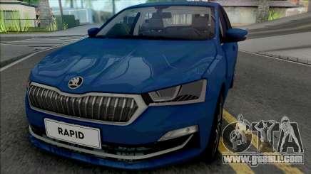 Skoda Rapid 2019 for GTA San Andreas