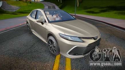 Toyota Camry V75 XLE 2021 for GTA San Andreas