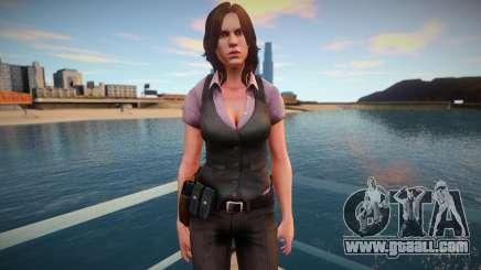 Helena Harper skin for GTA San Andreas