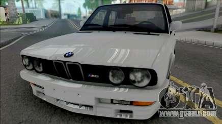 BMW M5 E28 (SA Lights) for GTA San Andreas