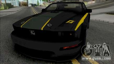 Ford Mustang Shelby Terlingua (SA Lights) for GTA San Andreas