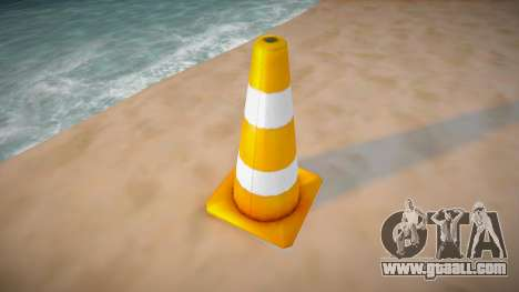 Road cone for GTA San Andreas