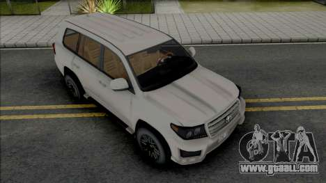 Toyota Land Cruiser 2015 Lowpoly for GTA San Andreas