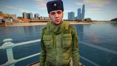 Senior Sergeant in Winter Uniform for GTA San Andreas