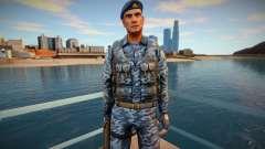 Russian commando in a bulletproof vest for GTA San Andreas