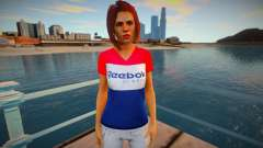 Girl in Reebok jacket for GTA San Andreas