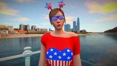 Style girl USA for GTA San Andreas