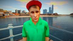 Youngster Lacoste shirt for GTA San Andreas