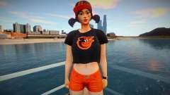 Fortnite - Fastball Fashion Casual V1 Orioles Ba for GTA San Andreas