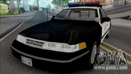 Ford Crown Victoria 1995 CVPI LAPD v2 for GTA San Andreas